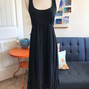 Black cotton summer dress size S